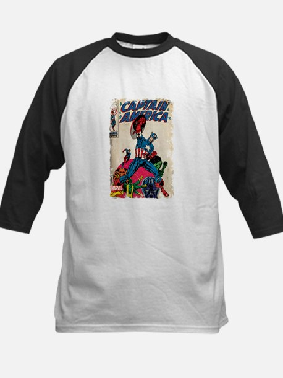 captain america Kids Baseball Jersey