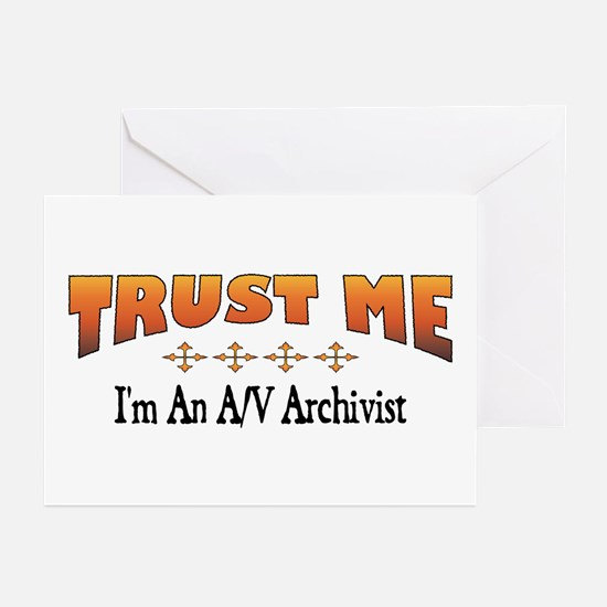 Trust A/V Archivist Greeting Cards (Pk of 10)