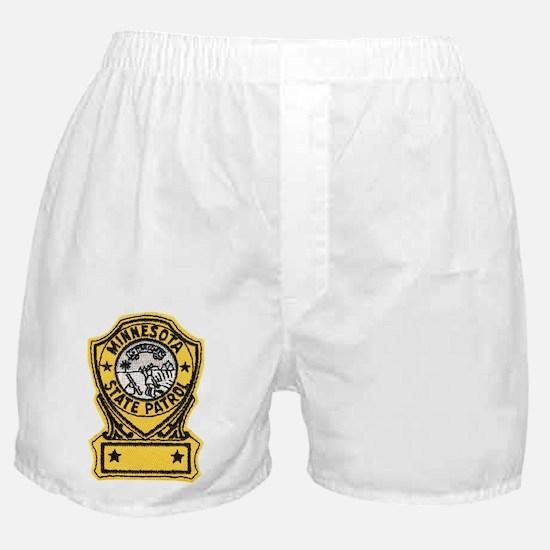 Minnesota State Patrol Boxer Shorts