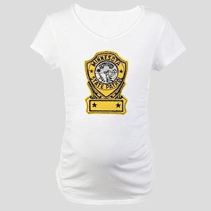 Minnesota State Patrol Maternity T-Shirt