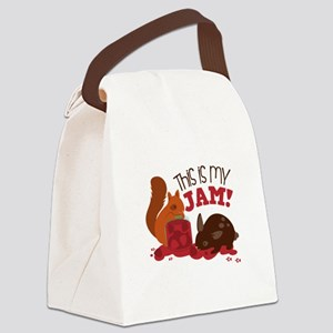 My Jam! Canvas Lunch Bag