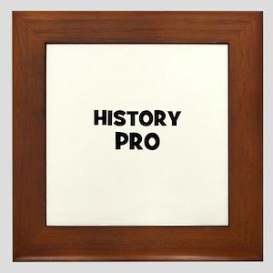 History Pro Framed Tile