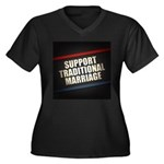 Support Traditional Marriage Plus Size T-Shirt