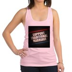 Support Traditional Marriage Racerback Tank Top