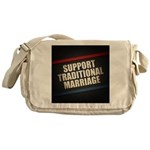 Support Traditional Marriage Messenger Bag