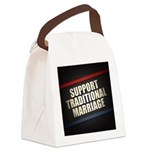 Support Traditional Marriage Canvas Lunch Bag