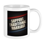 Support Traditional Marriage Mugs
