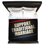 Support Traditional Marriage King Duvet