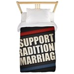 Support Traditional Marriage Twin Duvet