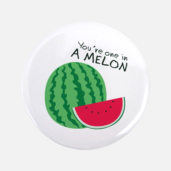 """Watermelons 3.5"""" Button"""