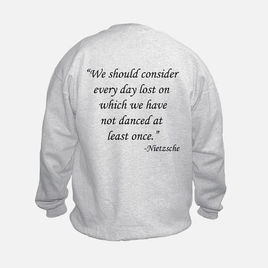 Waltzers Nietzsche Dance Sweatshirt