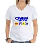 'Race 2 Win' in this Women's V-Neck T-Shirt