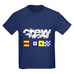 'Race 2 Win' in this Kids Dark T-Shirt