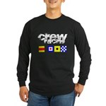 'Race 2 Win' in this Long Sleeve Dark T-Shirt