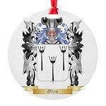 Glyn Round Ornament