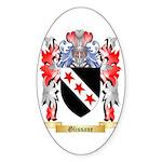 Glissane Sticker (Oval 10 pk)