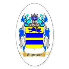 Gligorijevic Sticker (Oval)