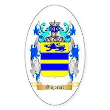 Gligoraci Sticker (Oval 50 pk)