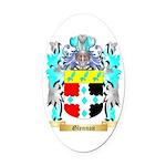 Glennon Oval Car Magnet
