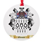 Glennie Round Ornament