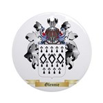 Glennie Ornament (Round)