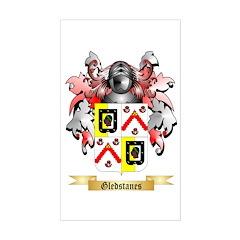Gledstanes Sticker (Rectangle)