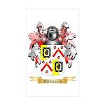 Gledstanes Sticker (Rectangle 50 pk)