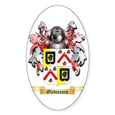 Gledstanes Sticker (Oval)