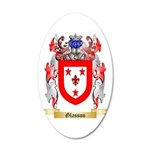 Glasson 20x12 Oval Wall Decal