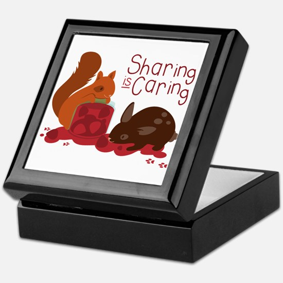 Sharing Is Caring Keepsake Box