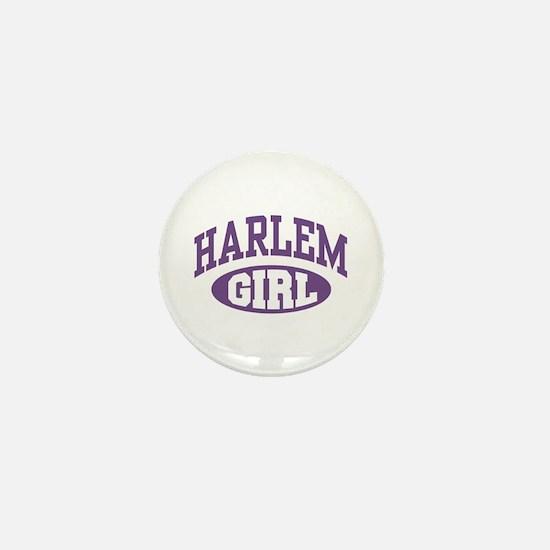 Harlem Girl Mini Button