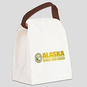 Alaska Born and Bred Canvas Lunch Bag