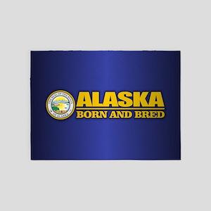 Alaska Born and Bred 5'x7'Area Rug