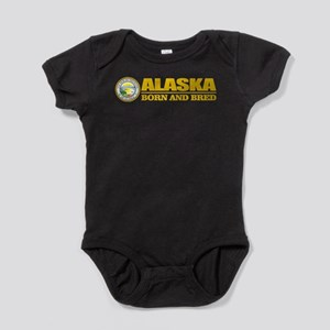 Alaska Born and Bred Baby Bodysuit