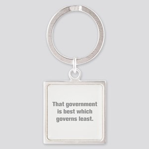 That government is best which governs least Keycha