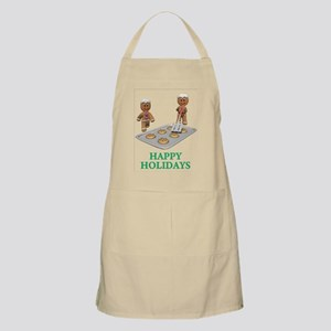 HAPPY HOLIDAYS - GINGERBREAD MEN Apron