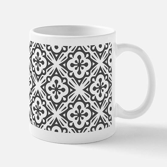 Floral Nouveau Deco Pattern Mugs