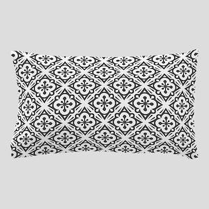 Floral Nouveau Deco Pattern Pillow Case