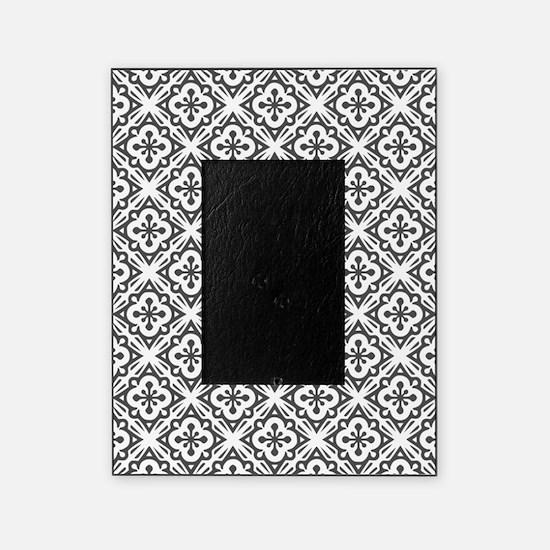 Floral Nouveau Deco Pattern Picture Frame