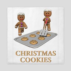Christmas Cookies Queen Duvet