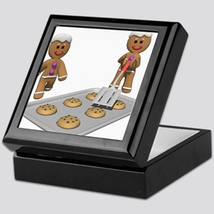 GINGERBREAD MEN Keepsake Box