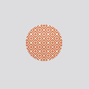 Floral Deco Pattern Mini Button