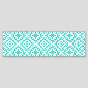 Floral Deco Pattern Sticker (Bumper)