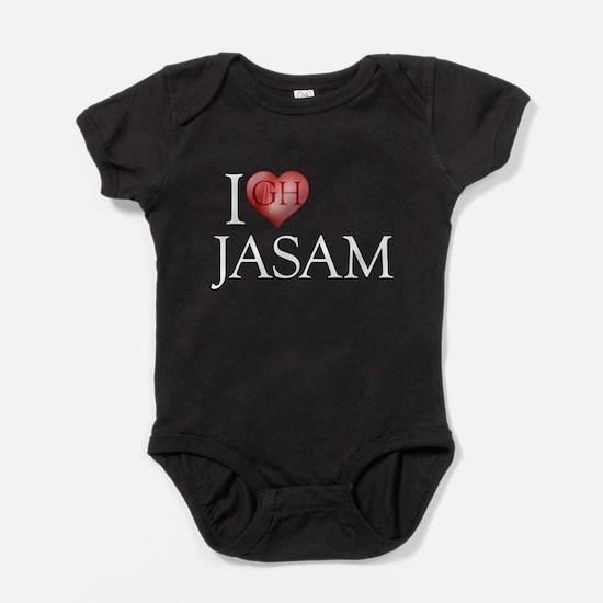 I Heart Jasam Baby Bodysuit