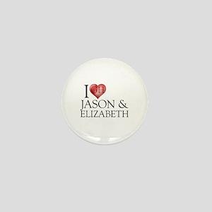 I Heart Jason & Elizabeth Mini Button