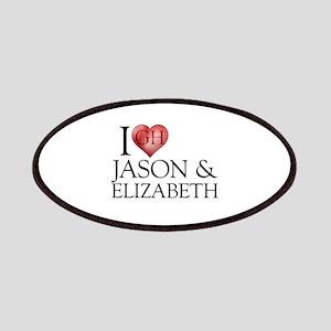 I Heart Jason & Elizabeth Patches