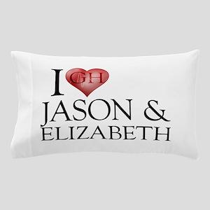 I Heart Jason & Elizabeth Pillow Case