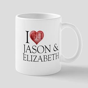I Heart Jason & Elizabeth Mug