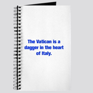 The Vatican is a dagger in the heart of Italy Jour