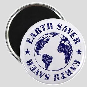 Save Earth Environmental Slogan Magnet